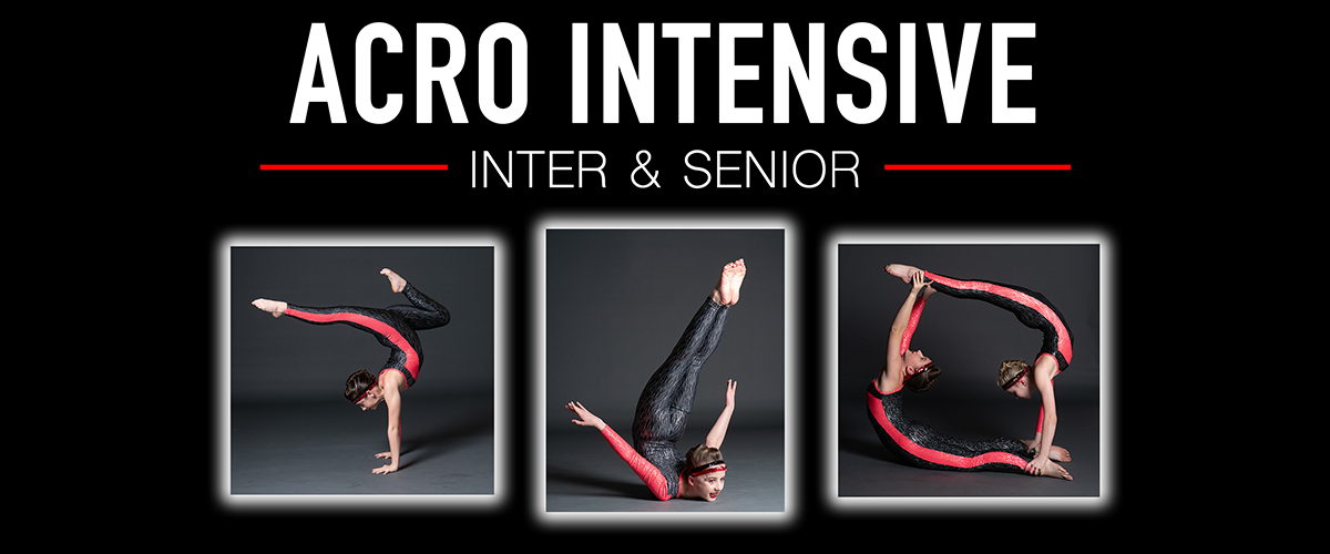 INTER & SENIOR ACROBATIC INTENSIVE